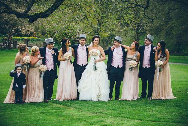 Традиционная английская свадьба