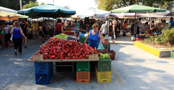 Продавец болгарского перца