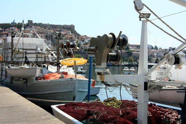 сети для ловли рыбы на судне