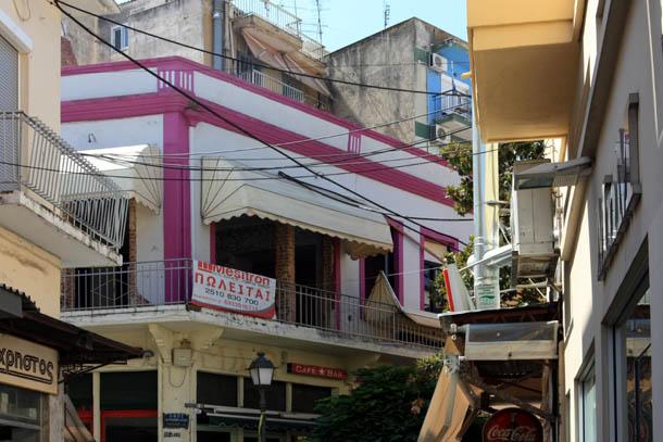 Греческие балконы