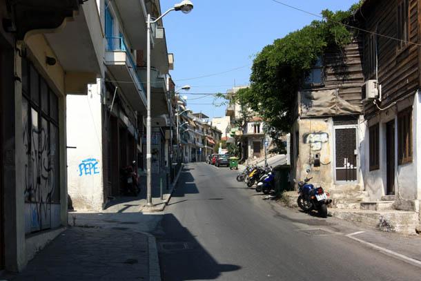 греческая улочка