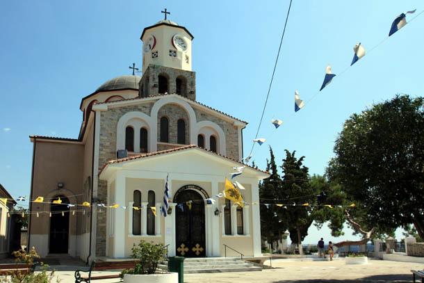 Успенская церковь, фасад