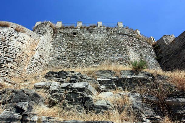 Панагия - крепостная стена
