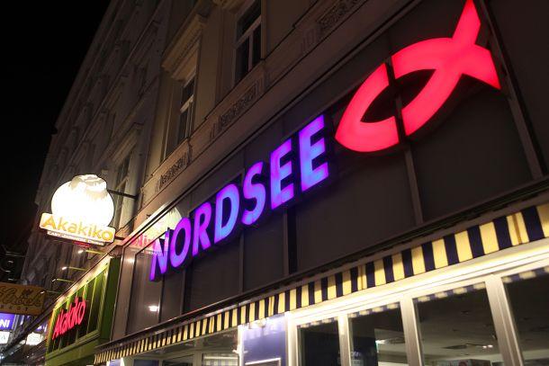 Немецкая сеть фаст-фуда Nordsee