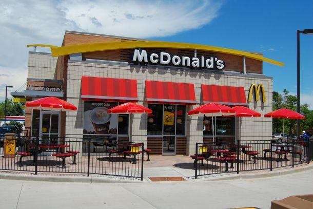 Ресторан «МакДональдс» в США