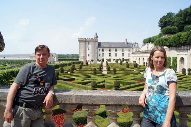 Сады Вилландри, Франция