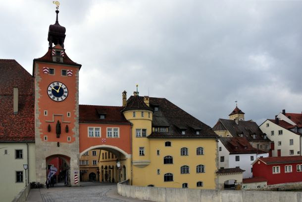 Башня с часами, Регенсбург