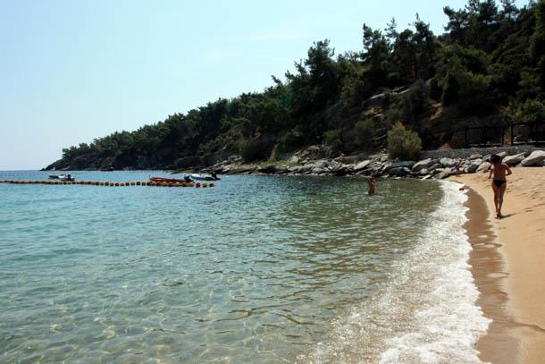 Пляж средиземноморья