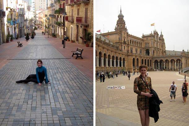 Агрополи, Италия и Севилья в Испании
