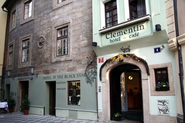 Гостиница Клементин Олд Таун в Праге