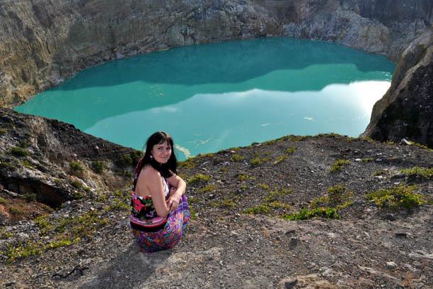 Индонезия озера в Энде