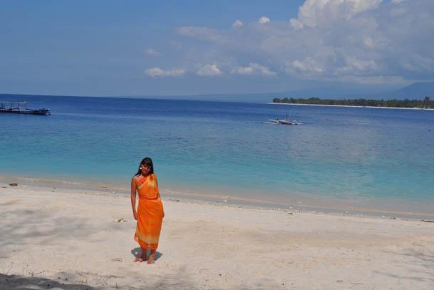 Индонезия острова Гили