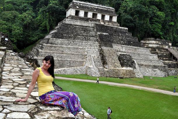 Мексика, пирамиды Паленке