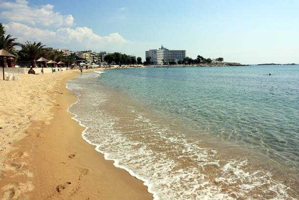 Каламица - пляж в Кавале