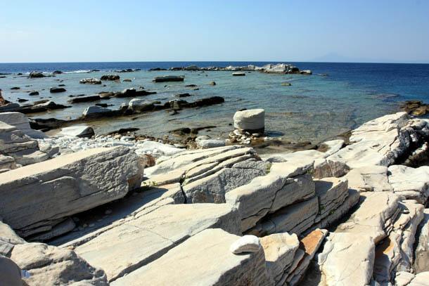 остатки древних каменоломен
