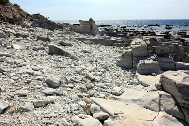 То, что осталось от мраморных каменоломен