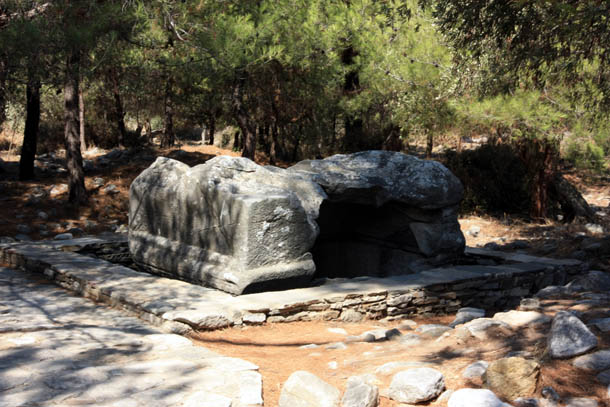 античные руины на Тасосе