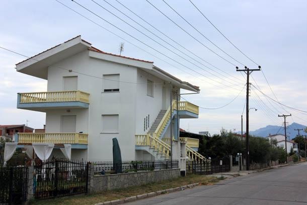 греческие домики