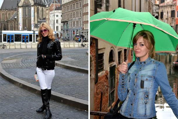 Италия и Амстердам