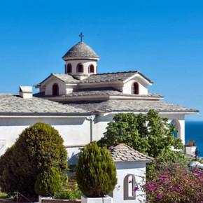 Монастырь Архангела Михаила на острове Тасос
