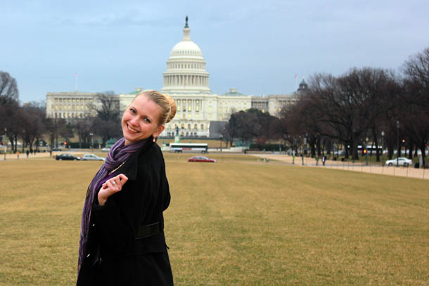 Вид на Капитолий, Вашингтон ДС, США