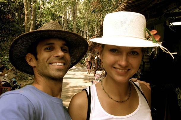 С любимым в зоопарке ЧангМай, Тайланд