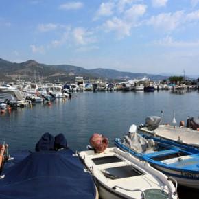 Курорт Неа Ираклица в Греции