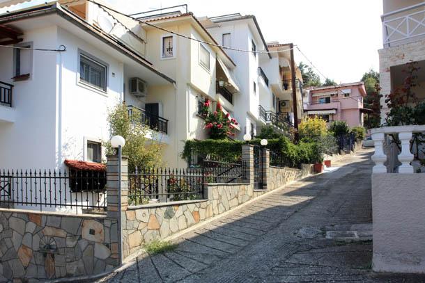 улочка с подъемом
