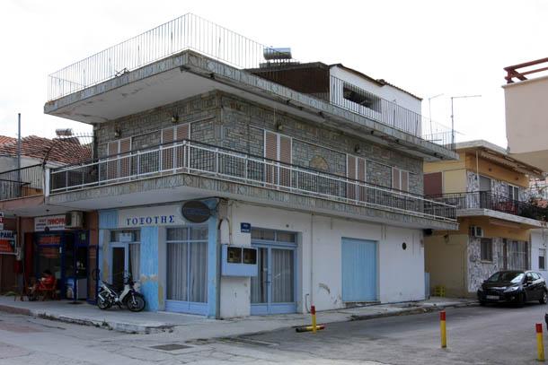 домик на греческом курорте