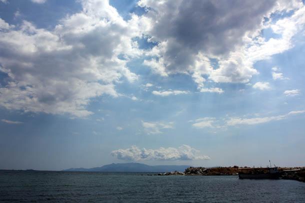 Вид на остров Тасос