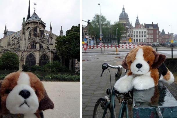 Амстердам и Нотр-Дам де Пари