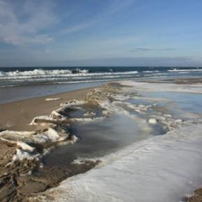 Солнце, лёд и море в феврале