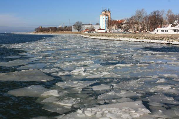 вид на Балтийск с парома