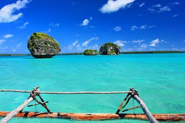Голубая лагуна Новой Каледонии