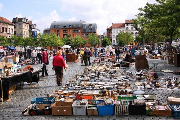 Блошиный рынок в Париже