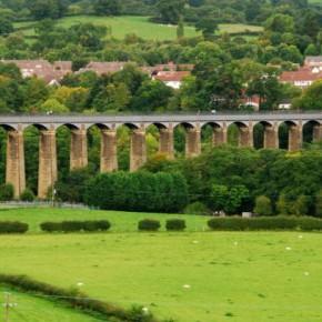 Акведук Понткисиллте в Уэльсе