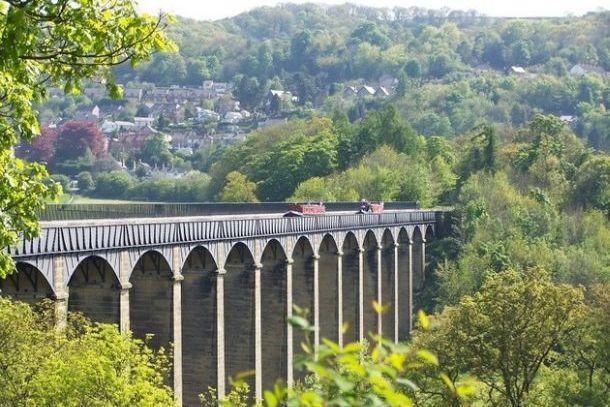Акведук Понткисиллте, Англия