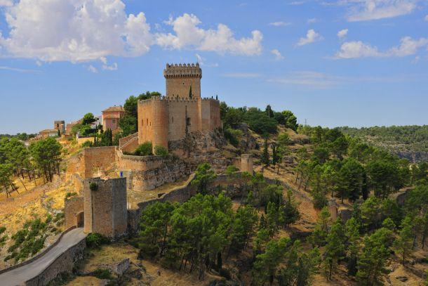 Castle Alarcon в Испании