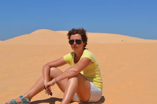 В дюнах Муйне, Вьетнам