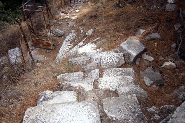 Лименас - вход в Акрополь