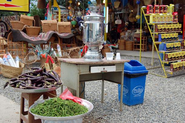 Иранский базар в Исфахане. К вопросу, кто первый придумал самовар