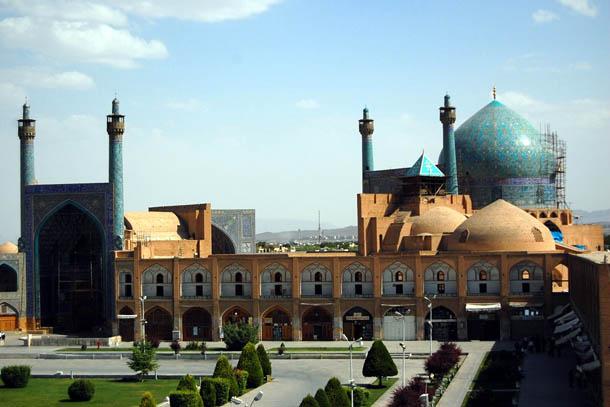 Мечеть в Исфахане. Иран