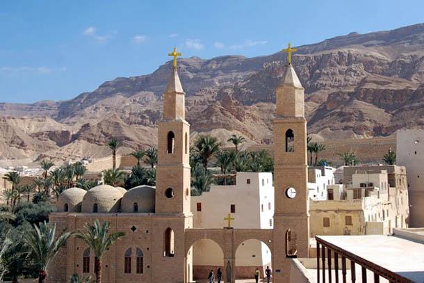 Восточная пустыня. Монастырь Св. Антония