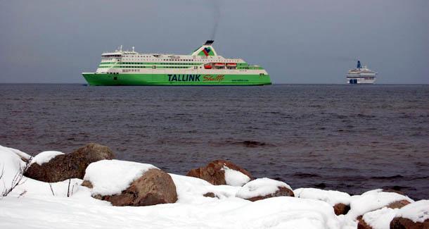 Таллин зимой. Море и снег. К вопросу о парадоксах