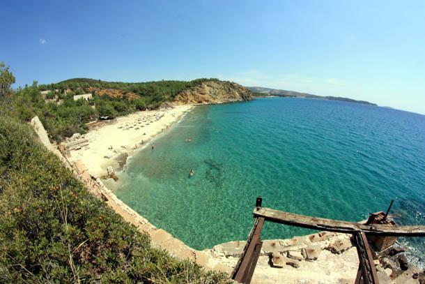 Панорама пляжа Металия