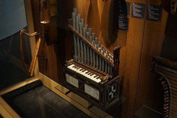 Прототип органа в музее музыкальных инструментов