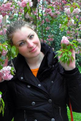 Цветущий сад во Франкфурте-на-Майне, Германия