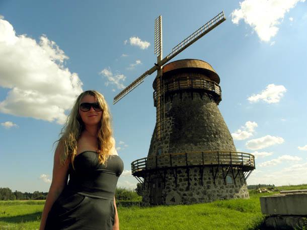 Мельница в Эстонии