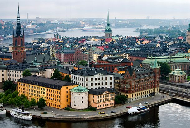 Панорама Стокгольма, Швеция