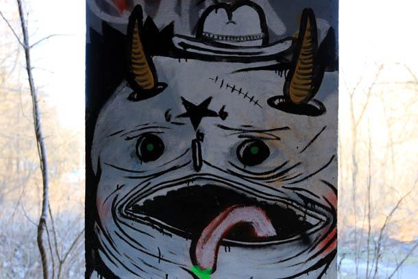рожица граффити